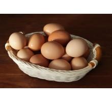 Яйца куринные фермерские ~10шт.